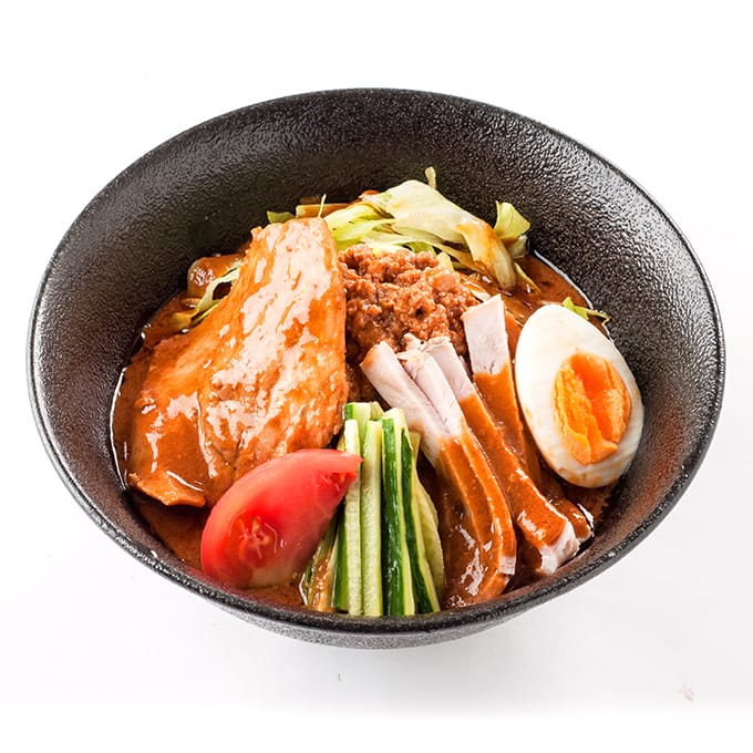 冷やしまぐろ担々麺