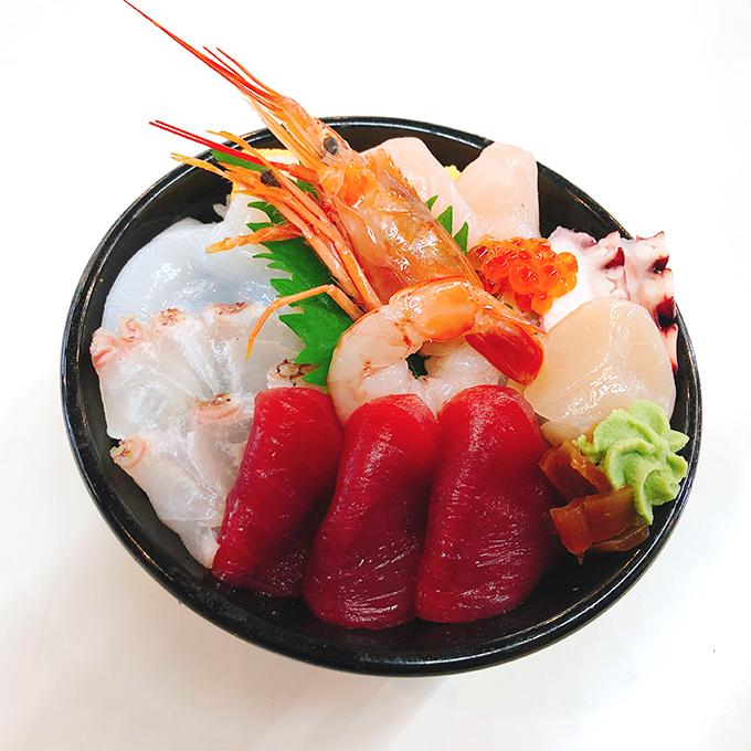 海鮮ちらし丼